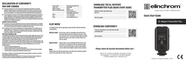 ELINCHROM - Downloads Center