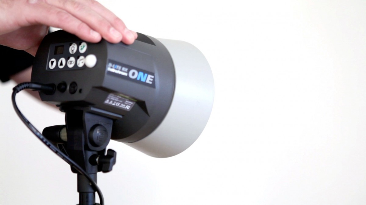 Elinchrom Studio Flash First Setups Camera Circuit There Is Only One Simple Connection To The