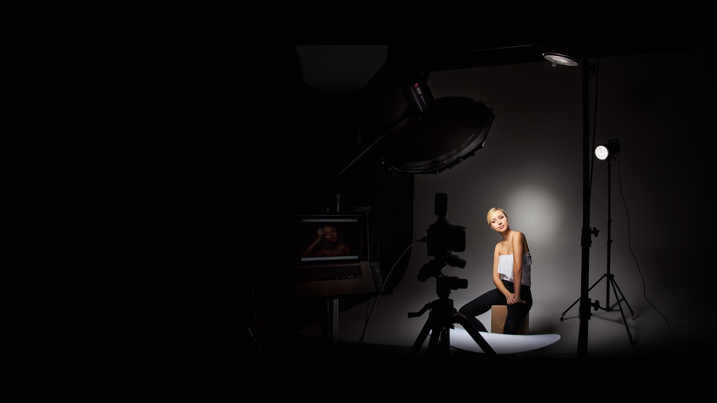 Elinchrom 2 Easy Setups With Grids If You Want A Simple Highpower Unit For Stage Lights Quentin Dcaillet
